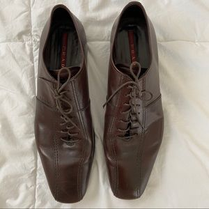 Prada lace up shoes sz 11.5